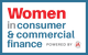 Logo for Women in Consumer & Commercial Finance conference [Image by creator  from ]