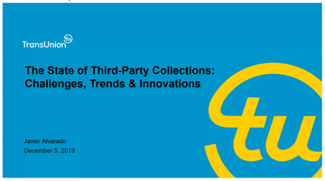 State of Third Party Collections Webinar Thumbnail