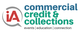 Logo for iA Commercial Credit & Collections [Image by creator insideARM from ]
